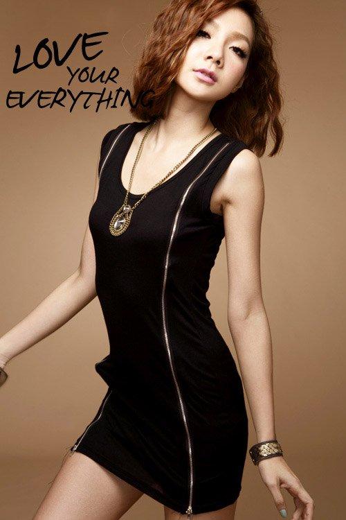 Sexy Side Zipper Cocktail Dress Min Clubwear S-in Apparel & Accessories on Aliexpress.com