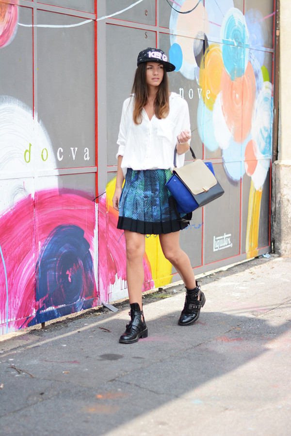 fashion vibe skirt bag shoes jewels