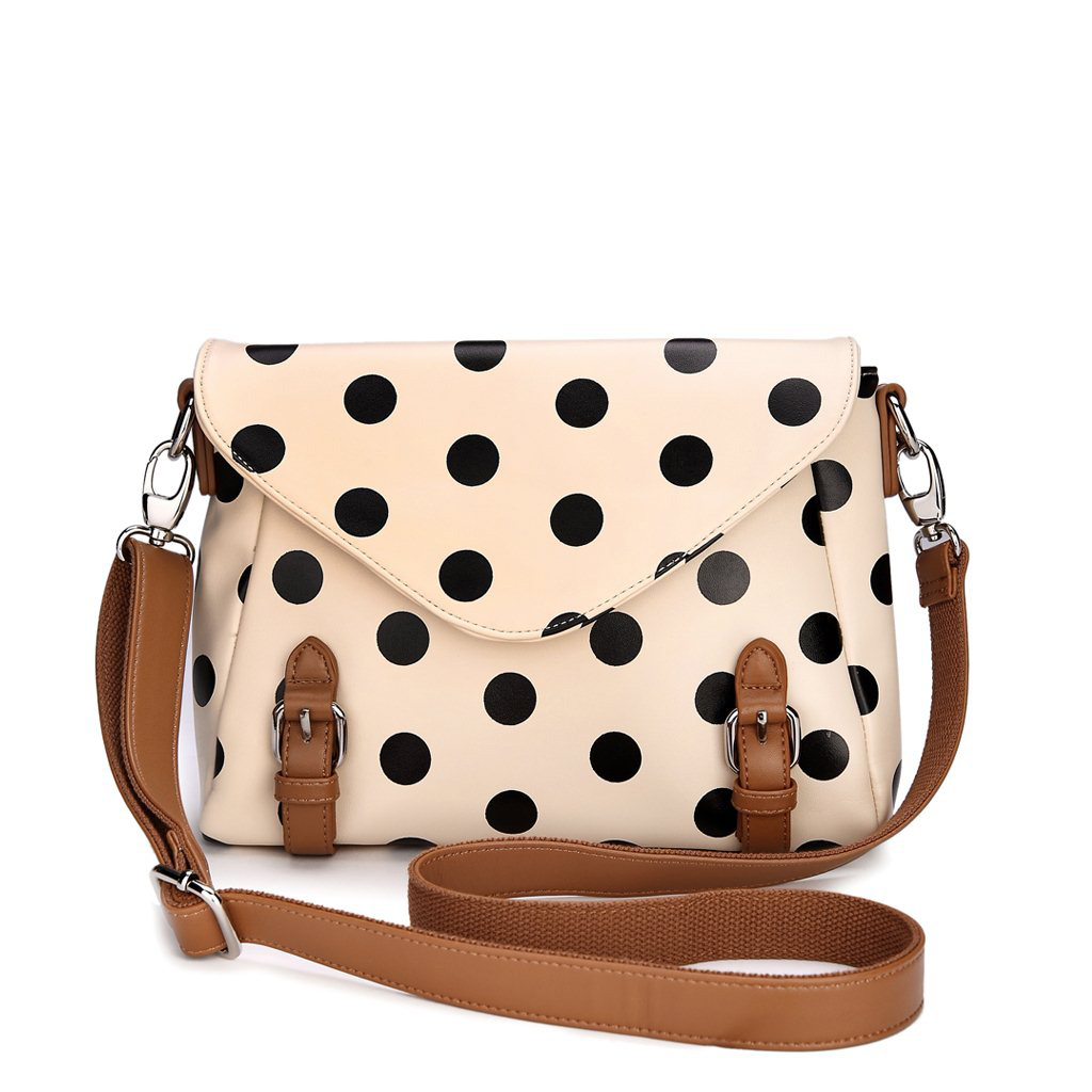 Cute And Fashion Polka Dot Messenger Bag Shoulder Bag on Luulla