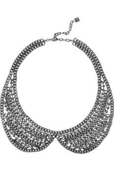 Stella silver-tone necklace  | DANNIJO | 56% off | THE OUTNET