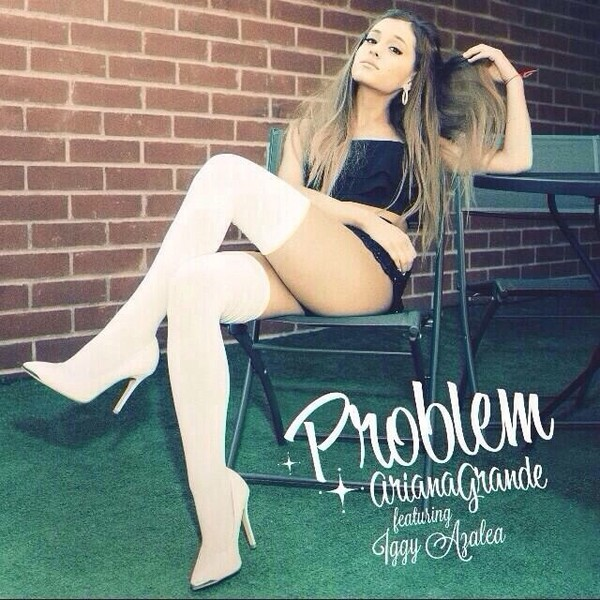 shoes ariana grande boots heels top problem music