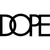 The Dope Classic Logo Beanie - Black By Dope Couture