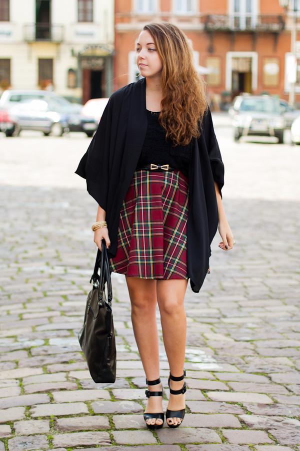 kolorowa dusza sweater skirt bag jewels shoes