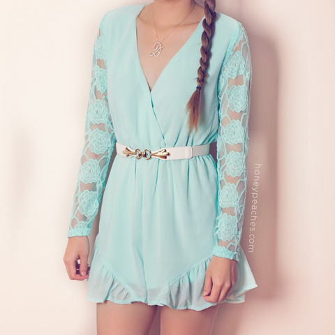 More to Love Playsuit – Honey Peaches