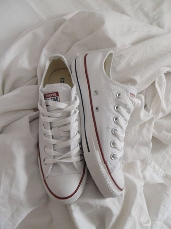 shoes converse white tumblr