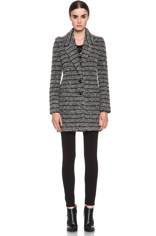 Etoile Isabel Marant|Ifea Cowens Knit Coat in Grey