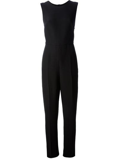 Valentino Sleeveless Jumpsuit - Mantovani - Farfetch.com