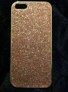 Victoria's Secret Silver Multicolor Glitter iPhone 5 Hard Cell Phone Case New   eBay