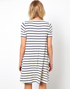 ASOS | ASOS Swing Dress In Stripe at ASOS