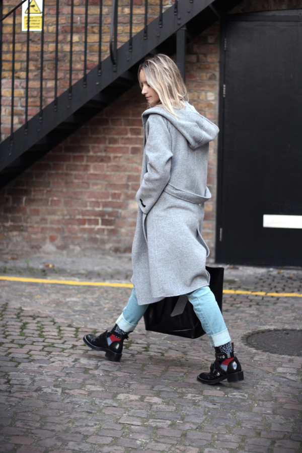 the fashion guitar jeans coat sweater shoes bag