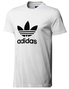 T-shirt adidas originals Adi Trefoil Tee white 2013 | Snowboard Shop SNOWBOARD1.CO.UK