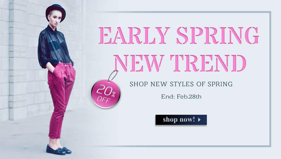 Shop women's street fashion clothes online store   free shipping   chicnova