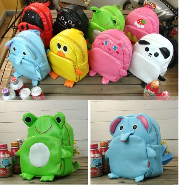 Baby Boy Girl Kid Child Cute Cartoon Animal Backpack Schoolbag Shoulder Bag-in Backpacks from Luggage & Bags on Aliexpress.com