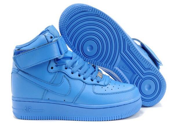 shoes blue nike air force 1 nike