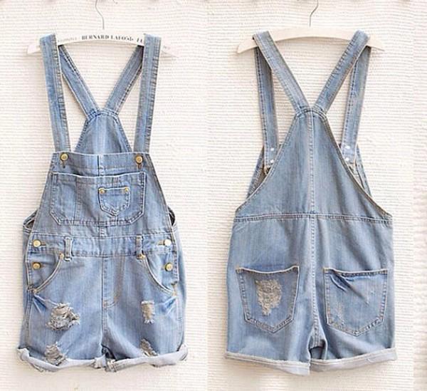 overalls jeans short overalls summer denim overall shorts pants summer outfits cropped acid wash denim denim overalls
