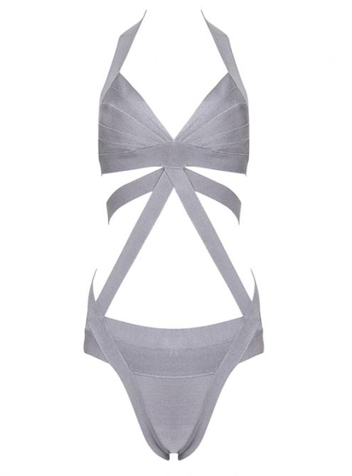 Integrated Bandage Cloth Bikini Swimsuit H147 $79