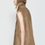 Camel Fur Lined Lapel Zipper Vest - Sheinside.com