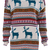 ROMWE | Jacquard Deer Cream Jumper, The Latest Street Fashion