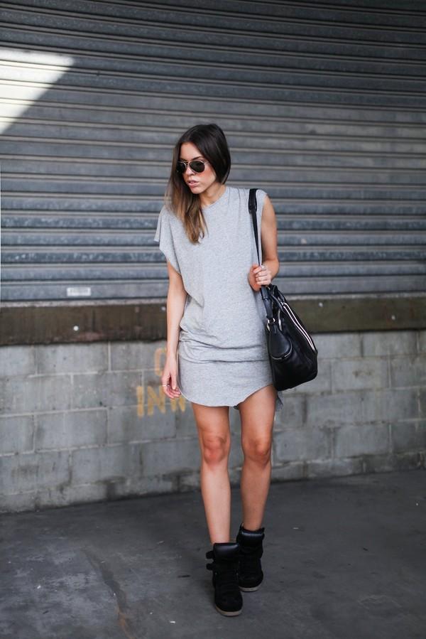 modern legacy tank top dress shoes bag sunglasses