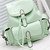 Foldover Buckled Backpack - Mint