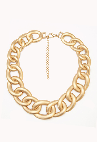 Luxe Curb Chain Necklace | FOREVER21 - 1000051063