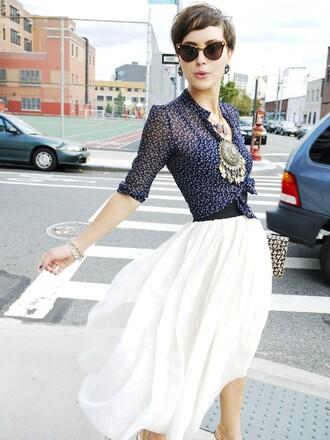 skirt blouse glamourai