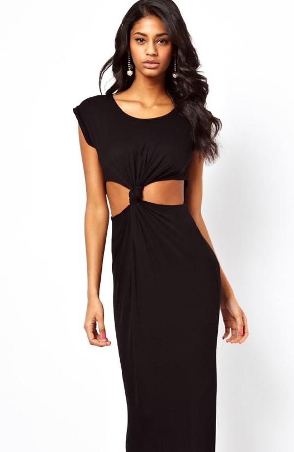 dress maxi dress cut-out
