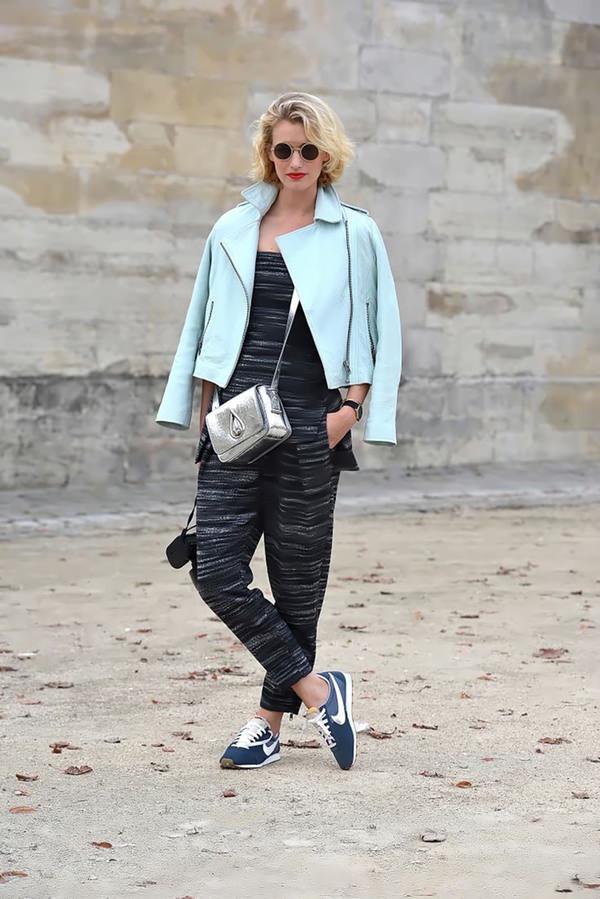 zanita pants t-shirt jacket shoes bag sunglasses