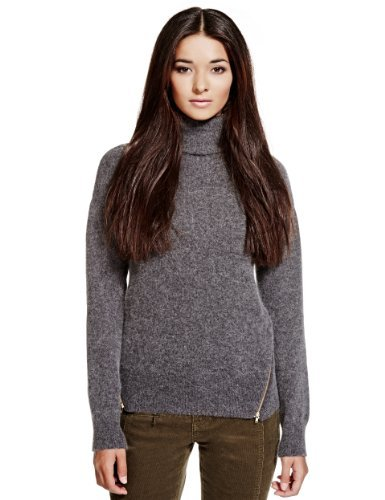 Limited Edition Roll Neck Jumper with Angora-Marks & Spencer