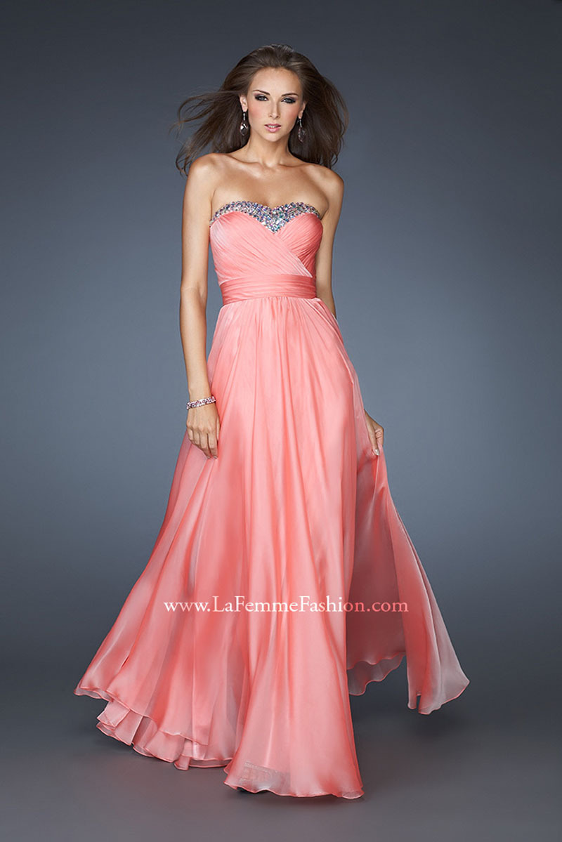 New Fashion 2014 Coral Colored Sweetheart Sequined Prom Dresses Formal Evening Party-in Prom Dresses from Apparel & Accessories on Aliexpress.com