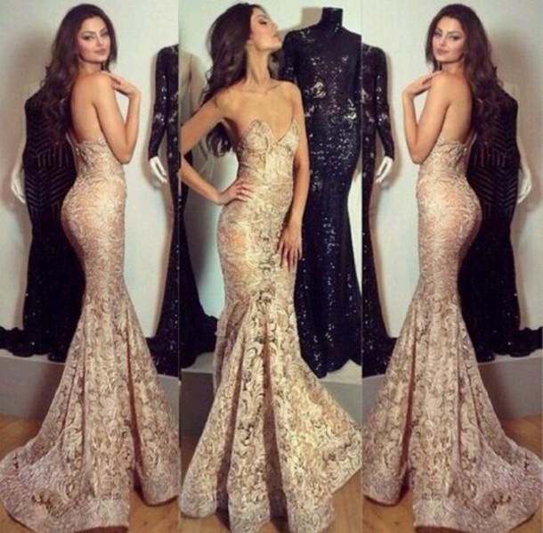 dress gold prom dress prom dress gold evening dress prom gown prom dress prom worthy