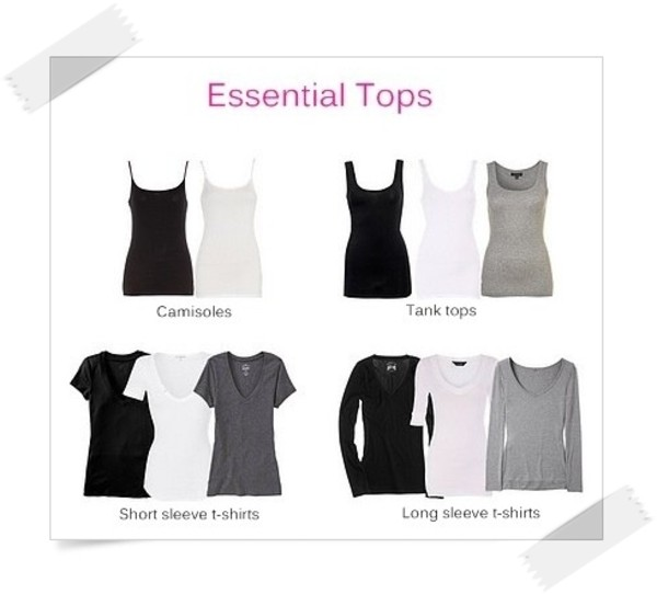 t-shirt tank top camisole t-shirt grey t-shirt black t-shirt white t-shirt