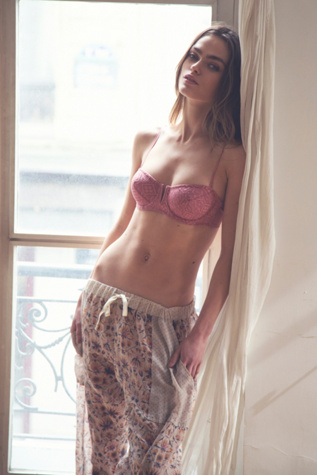 intimately womens crochet v wire