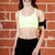 Padded Strappy Sports Bra Top with Removable Padding   Obsezz