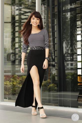jewels skirt belt shoes t-shirt kryzuy
