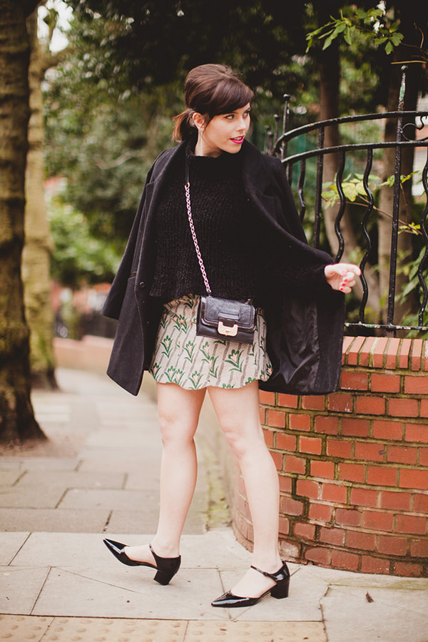 wish wish wish coat sweater skirt shoes bag