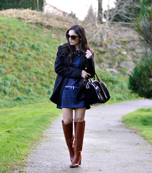 petit and sweet couture dress coat shoes bag sunglasses