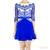 Three Floor Shades Of Blue Flared Tulip Lace Dress / TheFashionMRKT