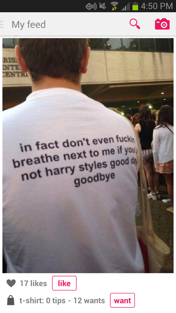 shirt harry styles one direction