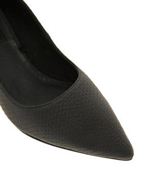 Cheap Monday   Cheap Monday Cube Heeled Shoes at ASOS