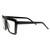 Retro Flat Top Block Aviator Clear Lens Glasses 8065                           | zeroUV