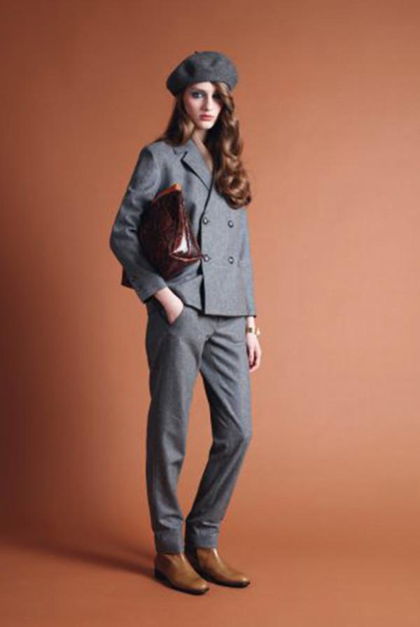 pants apc lookbook fashion jacket shoes bag