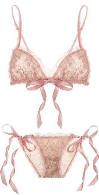 underwear lingerie lingerie set sexy lingerie pastel pastel pink pink baby pink cute girly bra