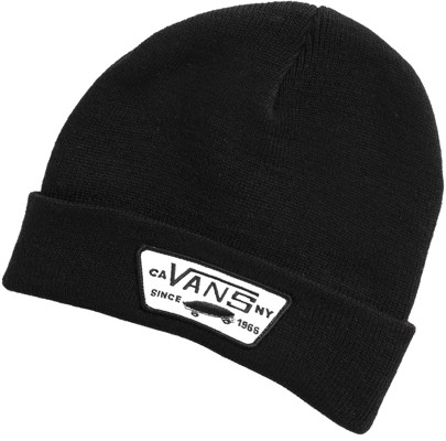 Vans Milford Beanie - black - Men's Clothing > Hats & Beanies > Beanies