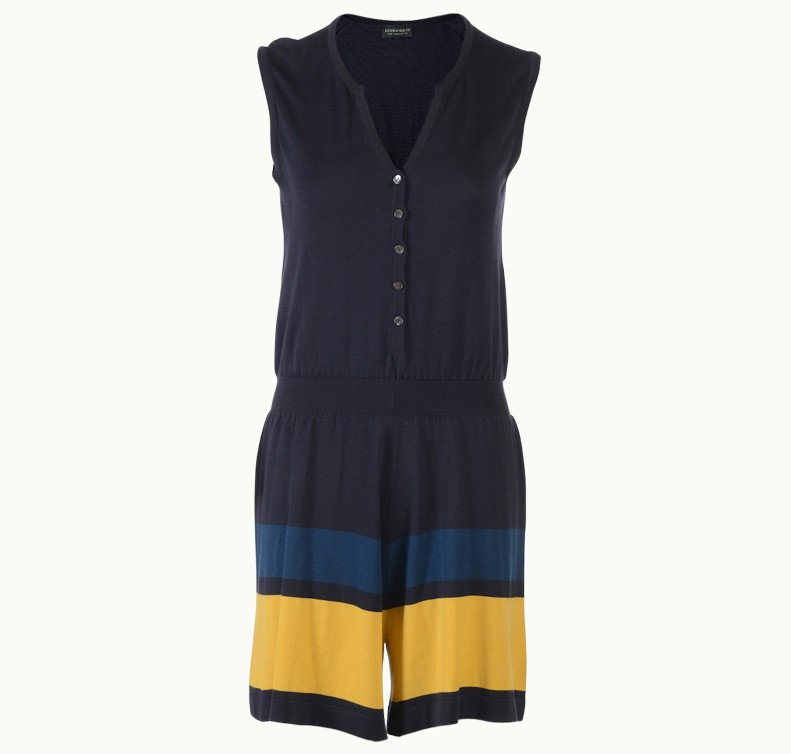 Haya In Lemon Drizzle, Playsuit Made From John Smedley Sea Island Cotton   John Smedley Official Store
