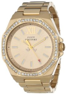 Juicy Couture Women's 1901028 Chelsea Gold Plated Bracelet Watch: Watches: Amazon.com