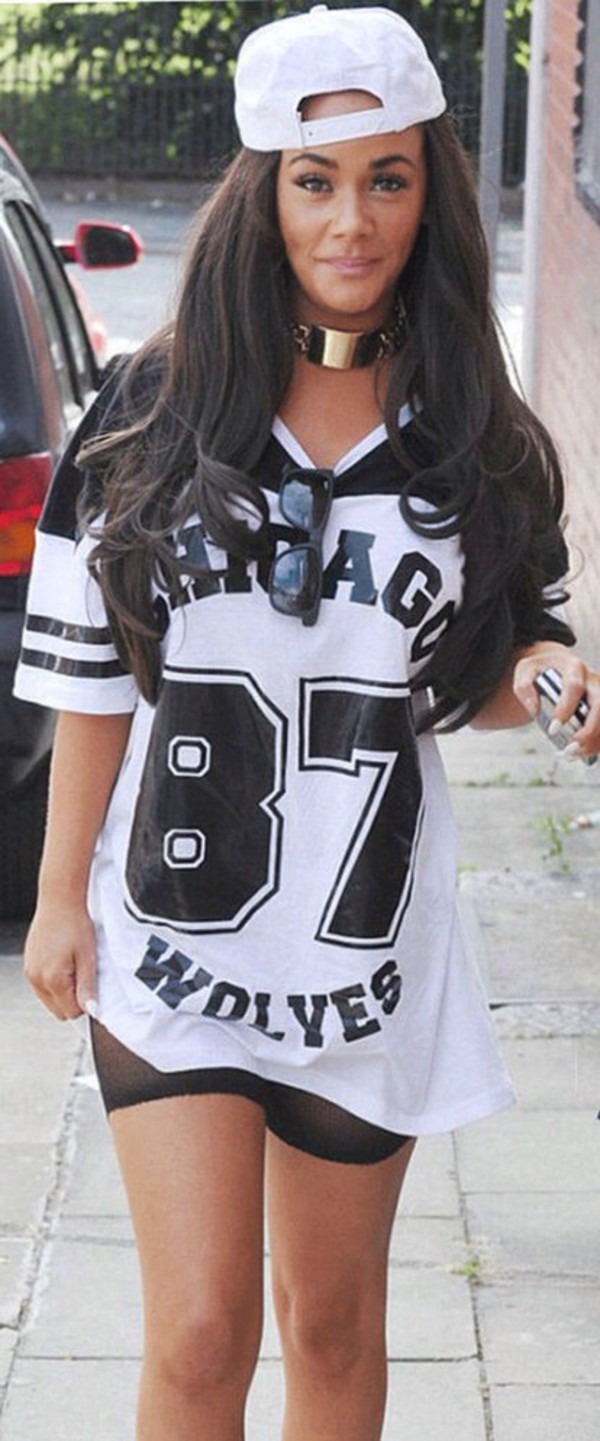 chicago chicago wolves 87 sportswear summer dress clothes necklace brunette girly