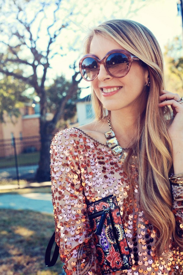 sugarlaws dress bag jewels sunglasses