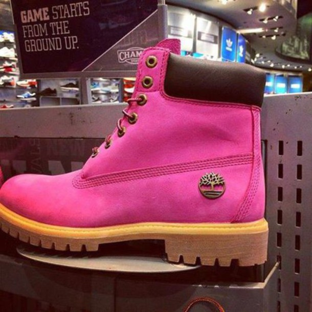 shoes pink boots