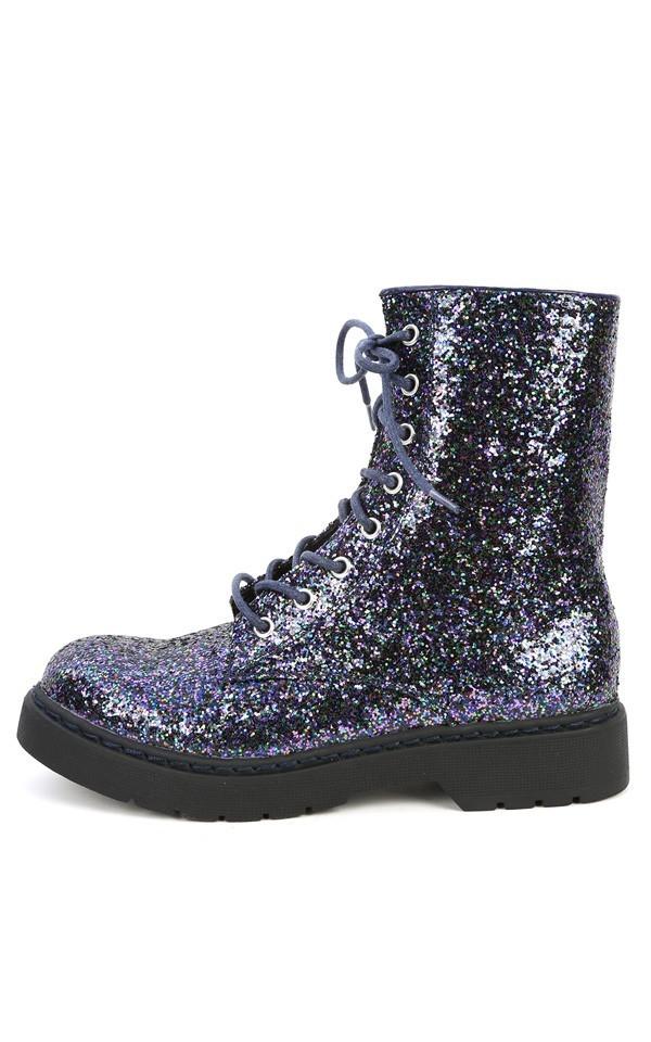 shoes glitter combat boots combat boots
